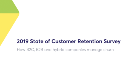 Customer retention survey report